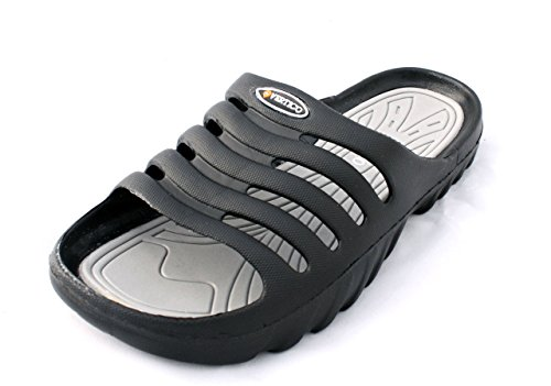 a3c8480d10d6 This just may be the most comfortable pair of poolside sandals you put on.  Closed-cell EVA for Unbeatable Comfort. Vertico slide on shower sandals  pack ...
