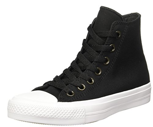 Converse Unisex Chuck Taylor All Star II Hi Basketball Shoe Black White 6.5  BM US Women   4.5 DM US Men. Padded f5710b917d7e