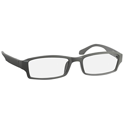 9b98daee9cba Reading Glasses 4.50 Flat Gray F501 Single