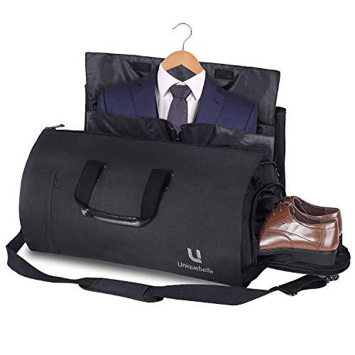 079e1eb08b9 Carry-on Garment Bag Suit Travel Bag Duffel Bag Weekend Bag Flight Bag Gym  Bag – Black