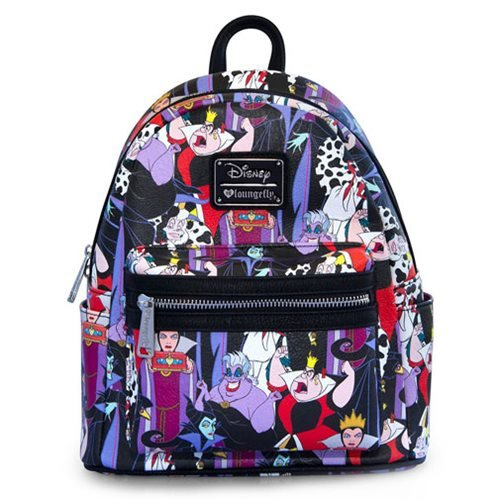 Loungefly X Disney Villains Mini Backpack Spicynicey