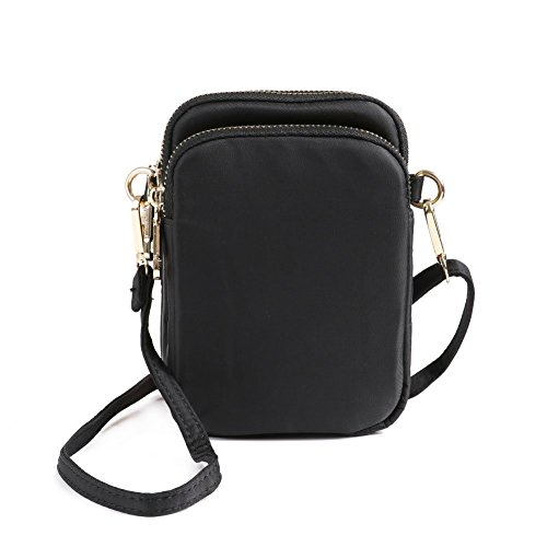 6336e986ae HAIDEXI Lightweight Nylon Small Purses or leather Small Crossbody bag Cell  Phone Purses Wallet for Women